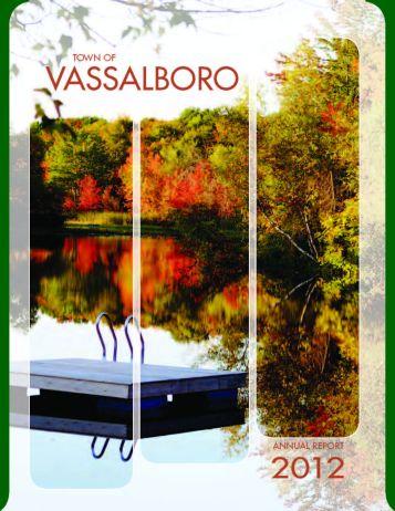 Town of Vassalboro Town Reportvassalboro town