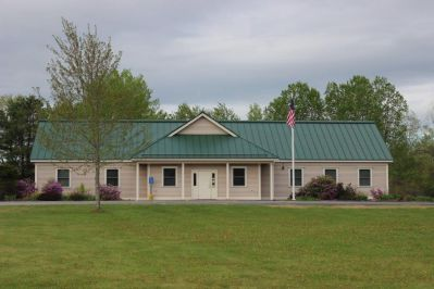 The town office located at 682 Main Street (Route 32), North Vassalboro.
